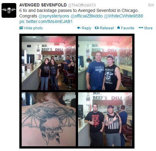 chicago premi tour gioco 2013