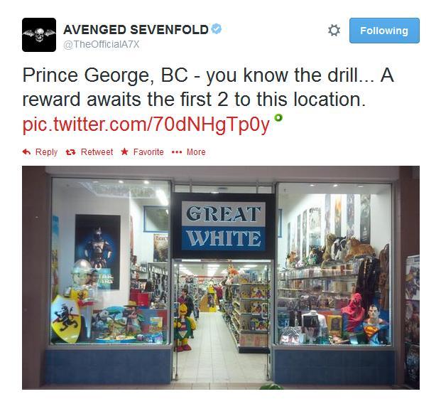 prince george gioco tour 2014