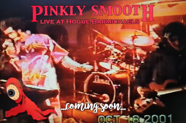 pinkly smooth evento lancio live show video