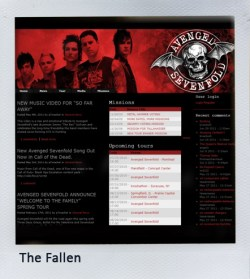 A7X Pedia the fallen fanclub