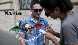 Fan italiani con Arin Ilejay