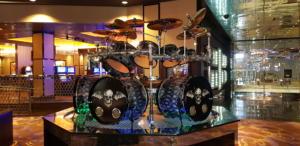 Batteria di Jimmy all'Hard Rock Hotel & Casinò di Las Vegas - Foto di Giada & Davide