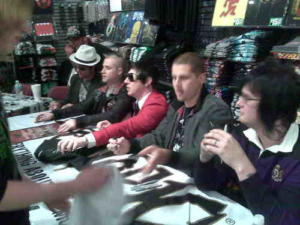 Signing Session 2008