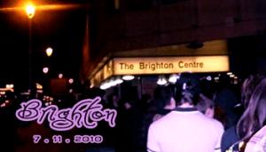 Fans in Tour: Brighton 07-11-2010