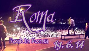 Fans in Tour: Rock in Roma 19-06-2014