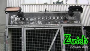 Fans in Tour: Zurigo 30-07-2008