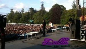 Fans in Tour: Dublino 01-08-2009