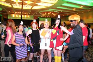 Avengers Ladies at the Avengers Ball. Dragon Con 2013 Photo courtesy of Kris Cabanas