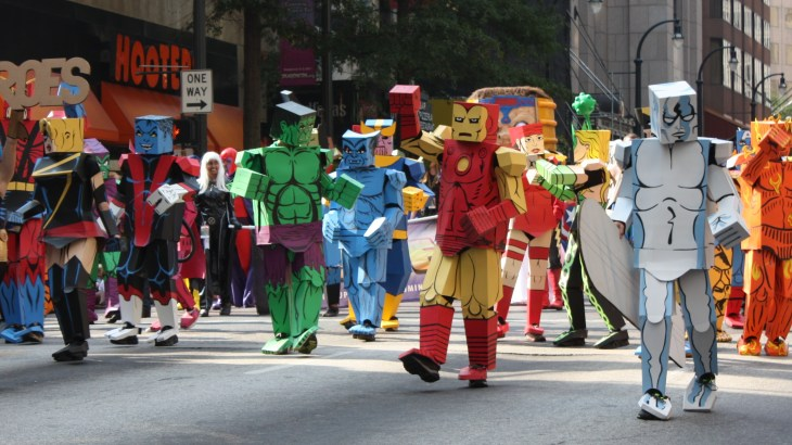 Dragon Con Parade 2011