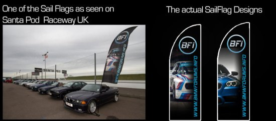 BMW Forums Info UK - sail flags