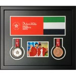 custom framing calgary medals