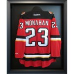 custom framing calgary sports jersey