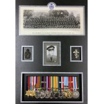 custom framing calgary war medals