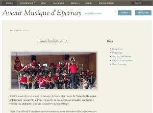 Nouveau site de l'Avenir Musique