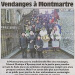 Article de L'Union du lundi 22 octobre 2012