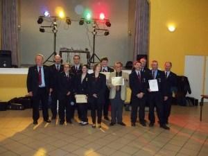 Médaillés de la Sainte Cécile 2012