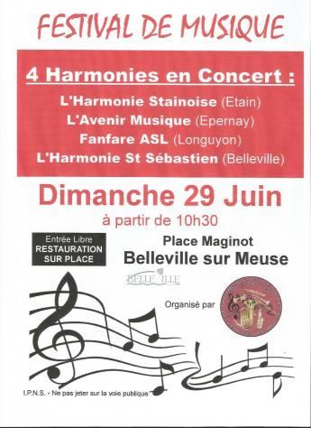 Festival de musique de Belleville / Meuse
