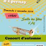 Concert d'automne - 2 novembre 2014