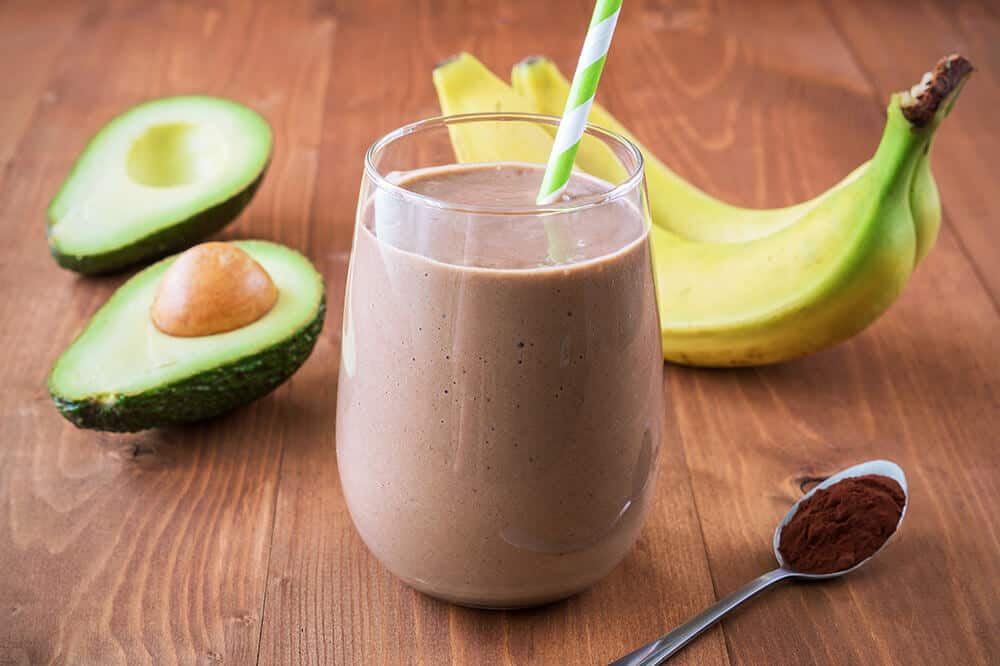 The Best Healthy Chocolate Peanut Butter Smoothie You Will Ever Have!