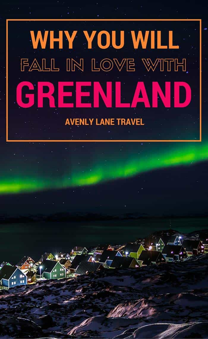 Any country that calls themselves Greenland when 85% of the island is covered in ice is a country that intrigues me.  From the colorful homes and northern lights to the HUGE glaciers and rich culture Greenland is truly a place unlike any on earth!