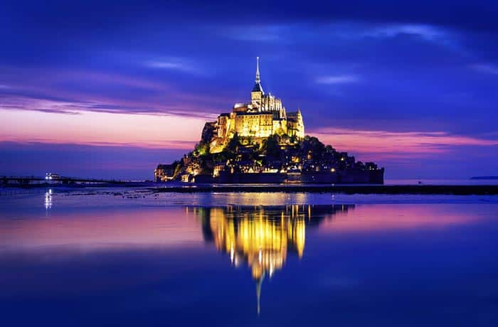 Mont Saint Michel, France!