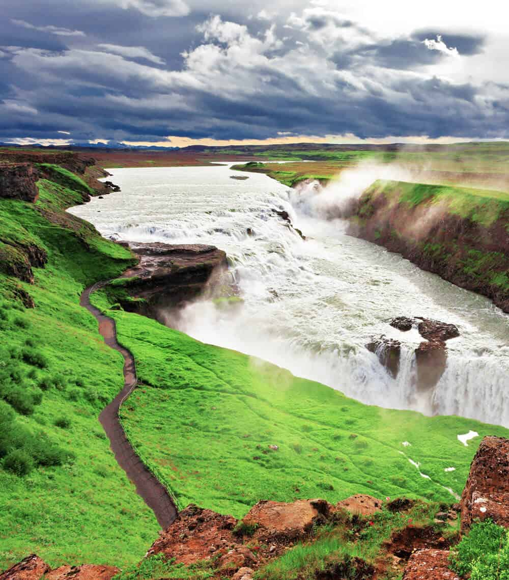 Gullfoss Waterfall in Iceland!