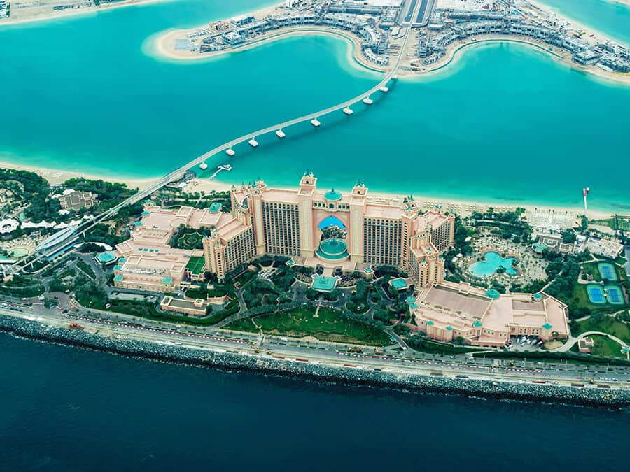 Atlantis, The Palm hotel in Dubai!