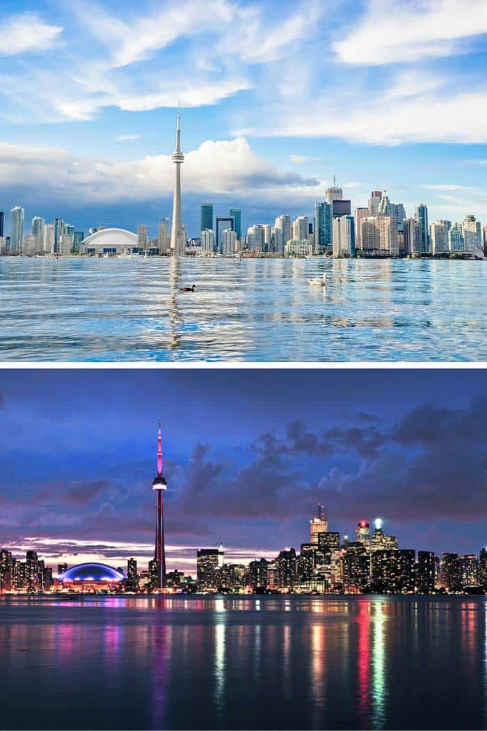 Toronto is the largest city in Canada. My husband says Toronto is home to one of the worst, yet best supported hockey teams in the world, the Maple Leafs. Click through to see 18 of the BEST skylines in the world!
