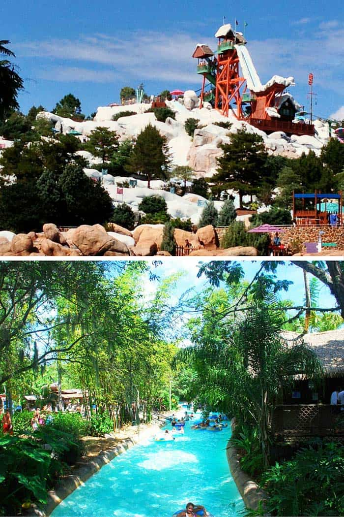 Visit the water parks in Orlando, Florida!
