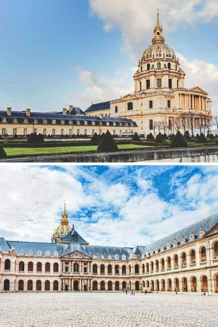 10 things you have to see your first time in Paris | Les Invalides/ Hotel national des Invalides | Avenly Lane Travel