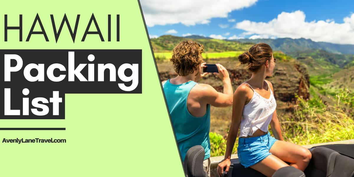Hawaii Packing List - Everything you will need to pack for a Hawaiian vacation!