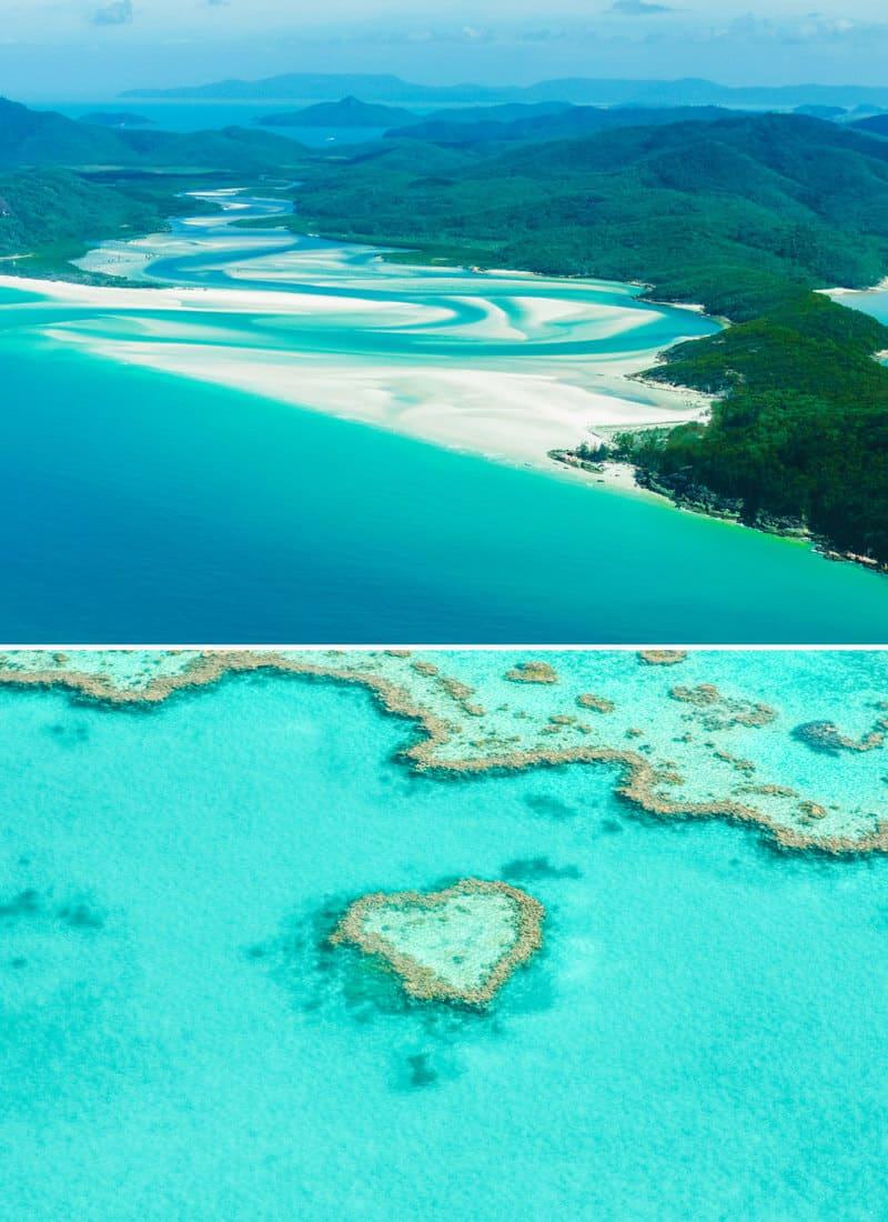 Whitsunday Islands in Australia! See the best natural wonders in Australia on Avenlylanetravel.com