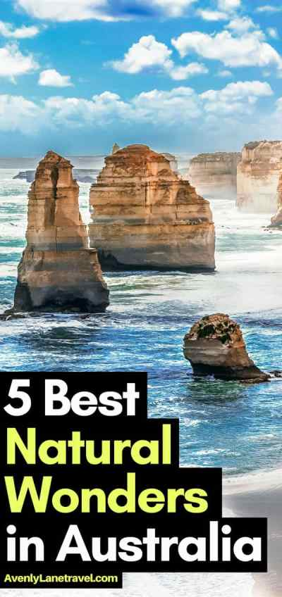 Australia Attractions - 5 Natural Wonders of Australia! #Australia