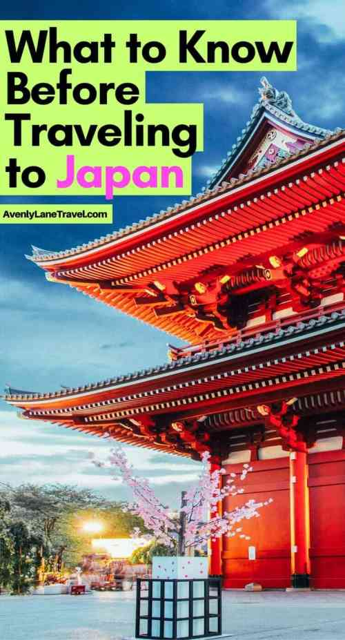Planning a trip to Japan for the first time? Here are 10 Unique things you should know about Japan before visiting. #Japan #Travel