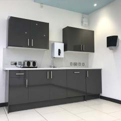 Kitchen Dishwasher Undermount Sink White Office Fit Out In Bristol For Unite Union - Case Study