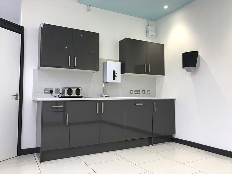 kitchen design ideas images aid sale office fit out in bristol for unite union - case study