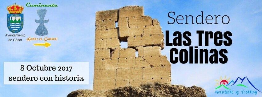 """Sendero """"Las Tres Colinas"""" de Gádor"""