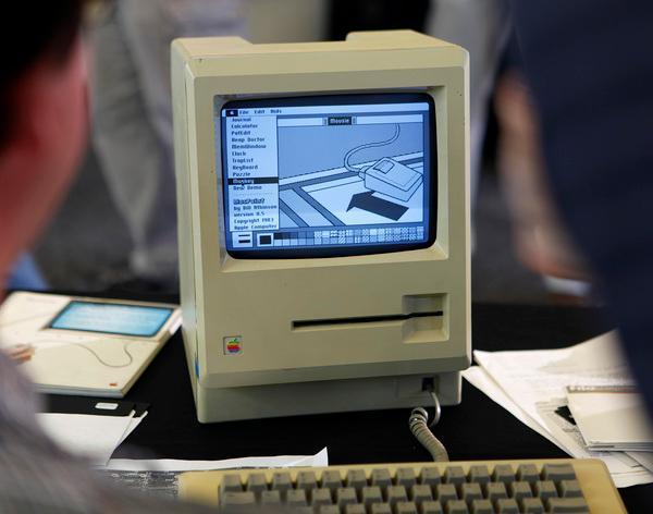 Early Mac with Twiggy Drive