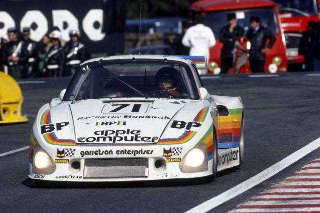 La Porsche 935 d'Apple à Daytona