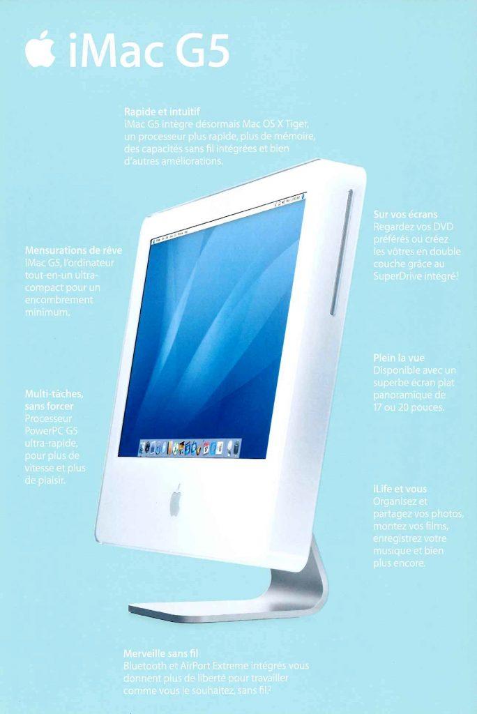 Brochure iMac G5