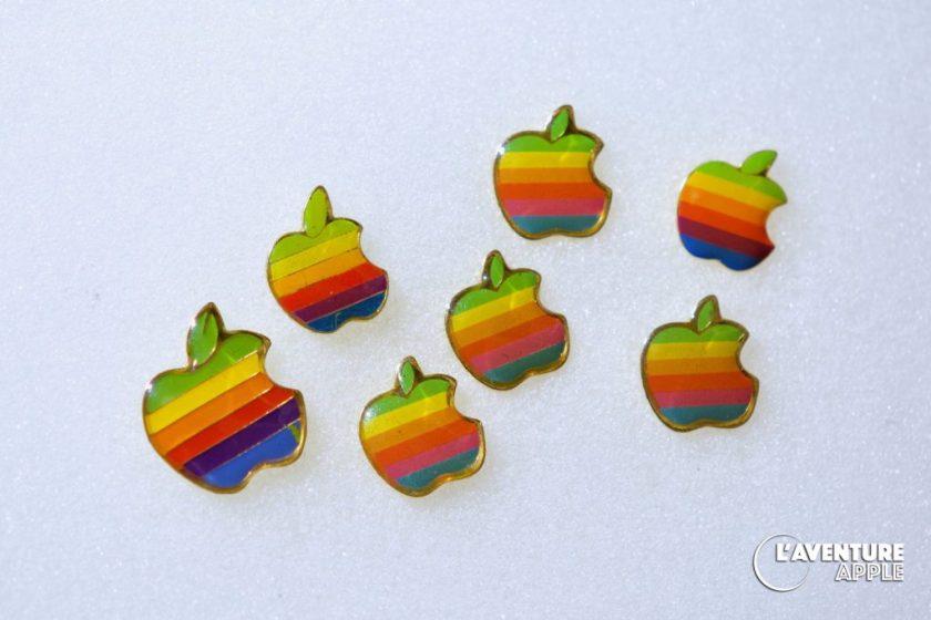 Des pin's Apple !