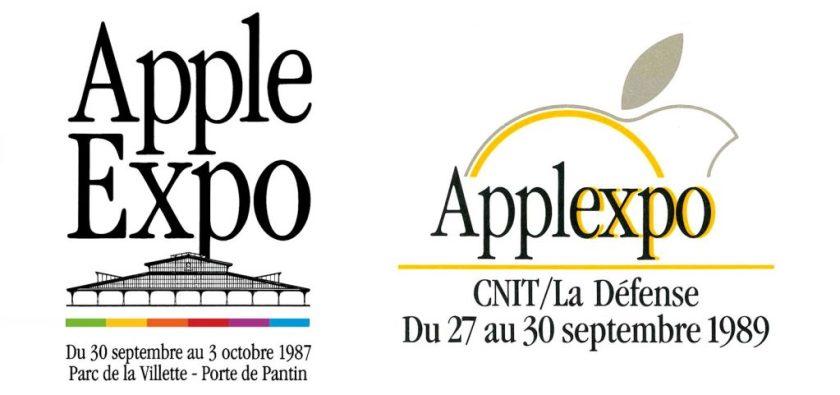 Apple Expo logos 1987 et 1989