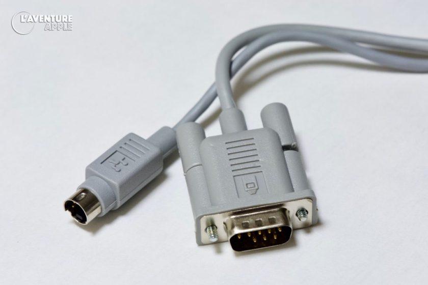 Apple Macintosh Plus Platinum mouse and Macintosh ADB Mouse
