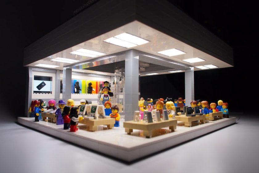 Lego Apple Store Fifth Avenue