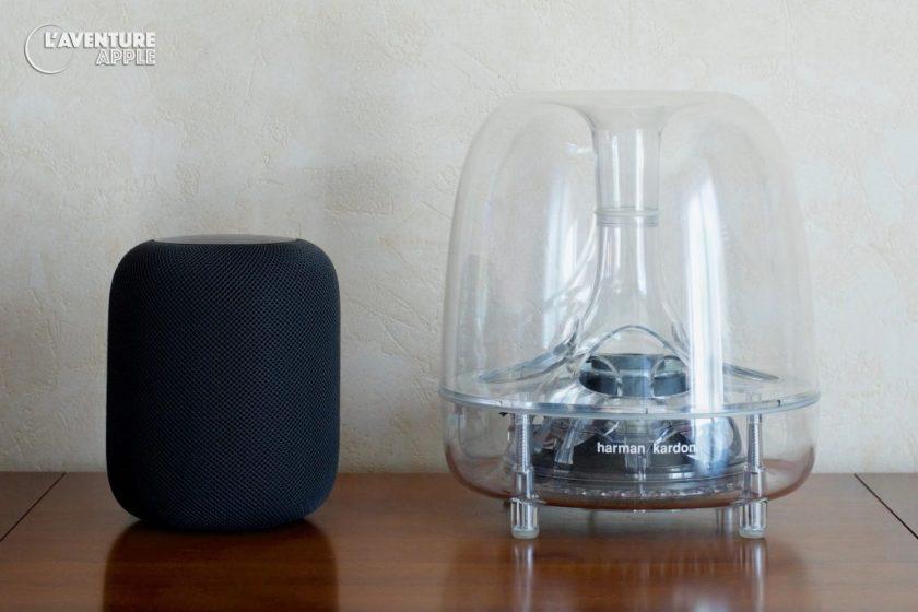 Apple HomePod and Harman Kardon iSub