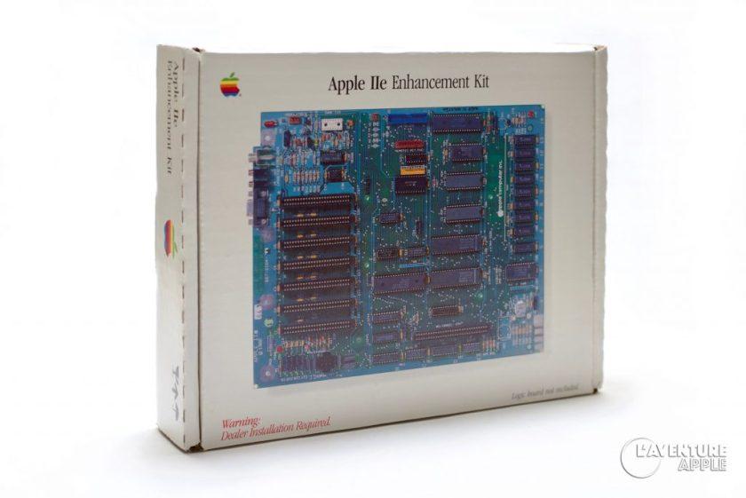Apple IIe enhanced kit box