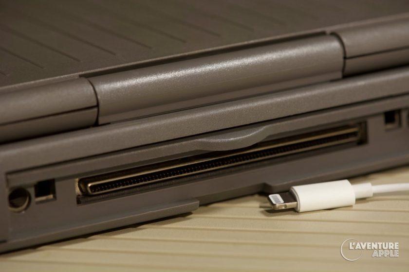 Apple PowerBook Duo powerlatch port