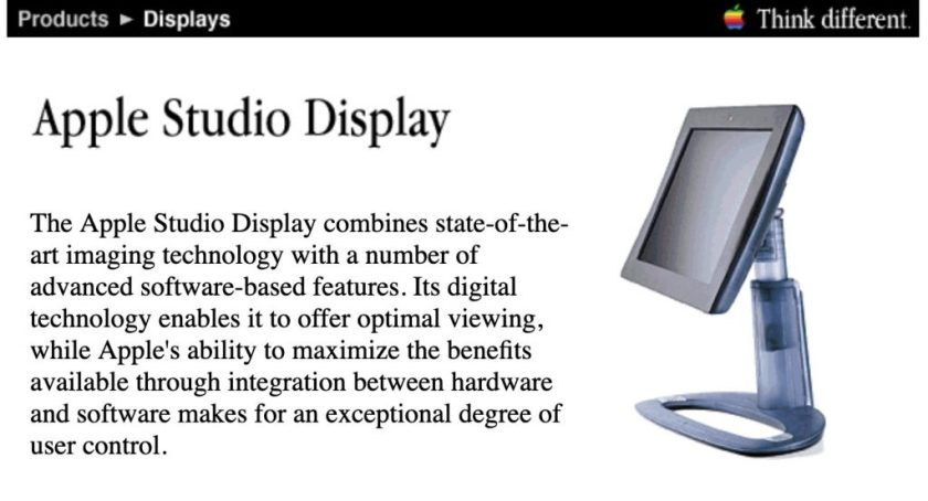 Apple Studio Display 1998 M6356LL