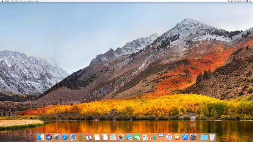 MacOS X High Sierra