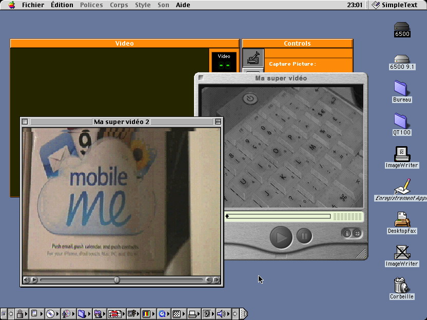 Apple TV/Video System on a PowerMacintosh 6500